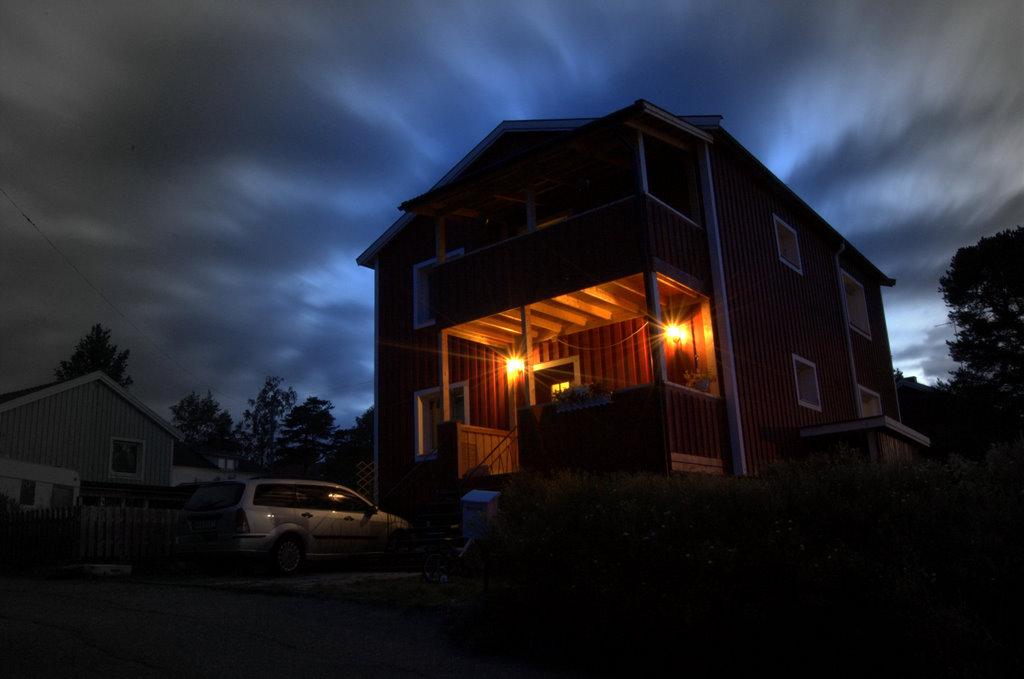 Vårt hus nattetid