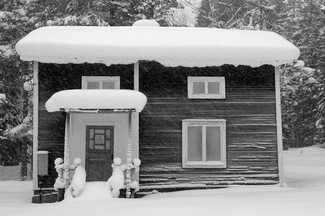 Vinter i Lidbacken